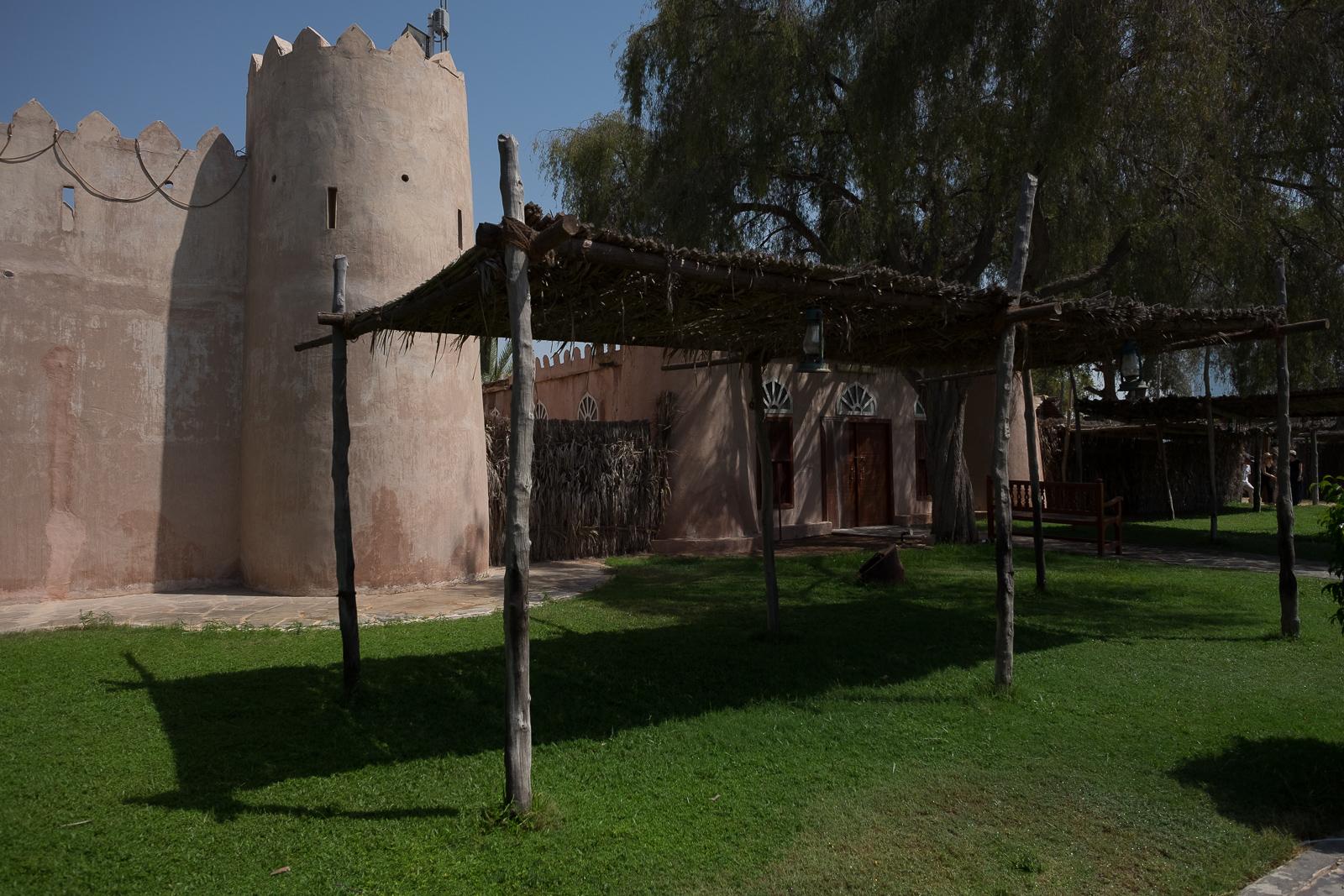 Buildings in the Abu Dhabi heritage village