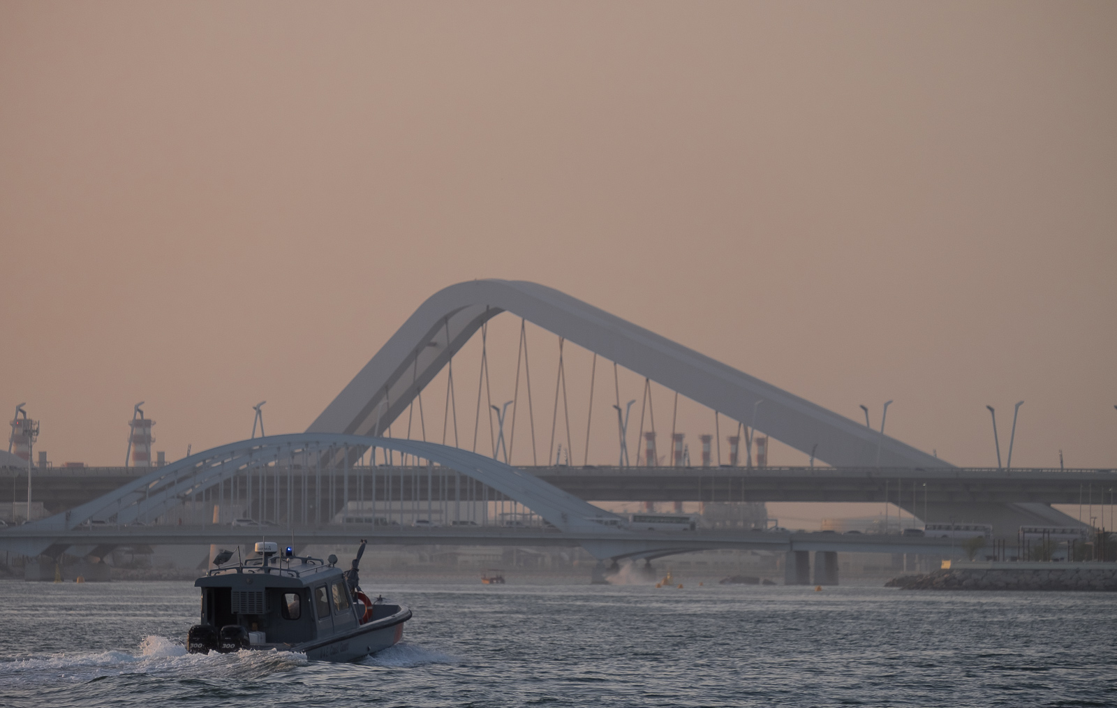 The Sheikh Zayed Bridge, Abu Dhabi