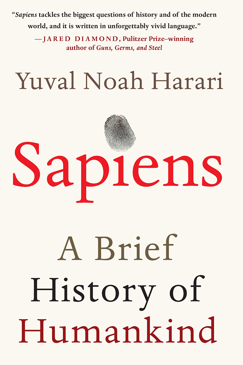 Cover of assets/book-covers/sapiens.jpg by Yuval Noah Harari