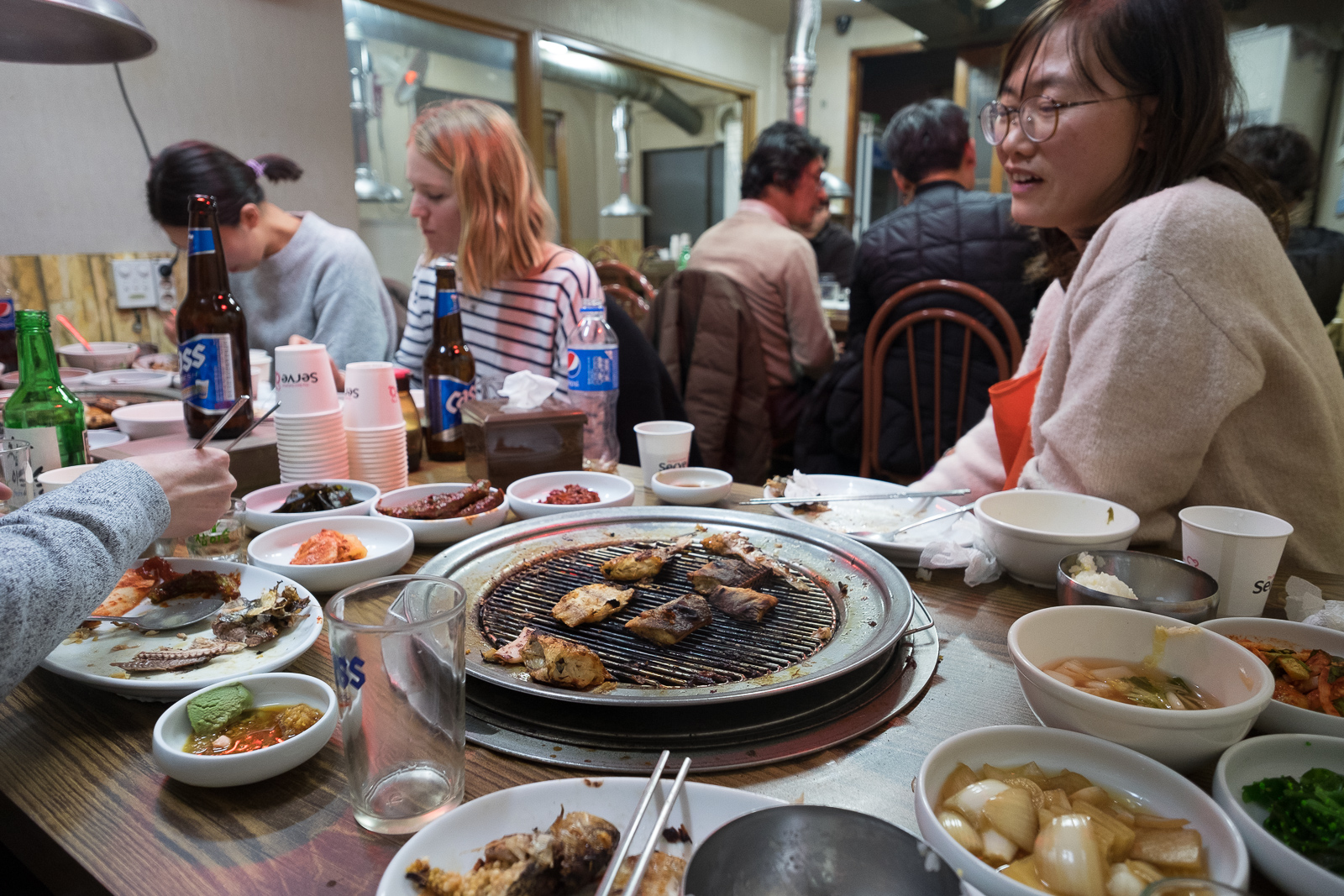 Grilled fish, Sokcho, South Korea
