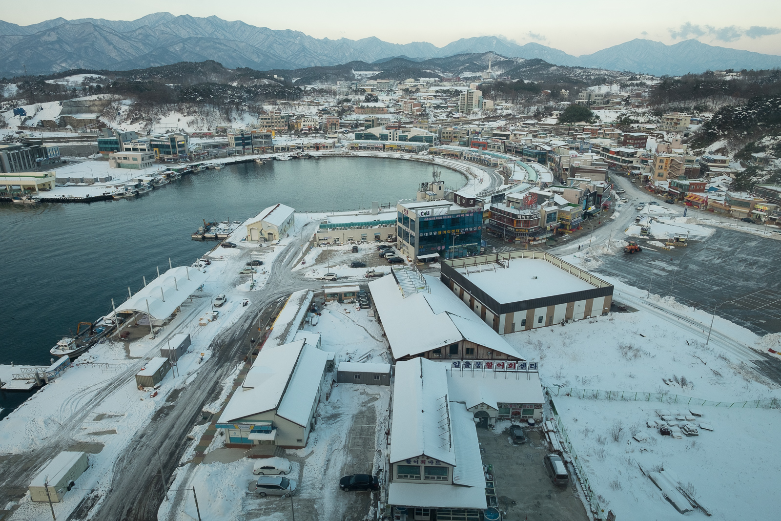 Sokcho harbour, South Korea